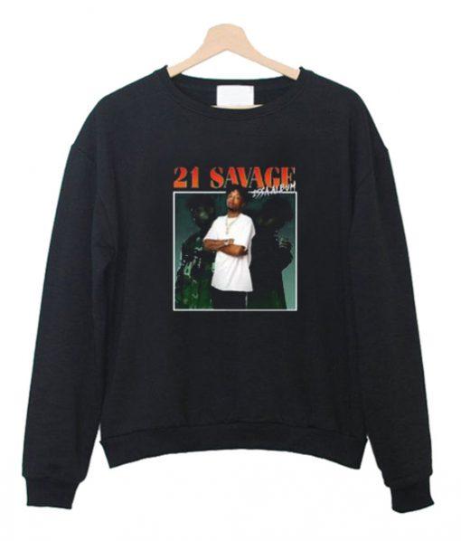 21 Savage Issa Album Sweatshirt