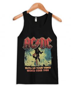 AC DC tank top world tour 1988