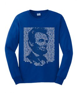 Abraham Lincoln Gettysburg Address Sweatshirt