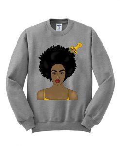 Afro Latina sweatshirt