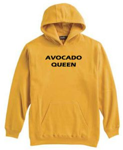Avocado Queen Yellow Hoodie