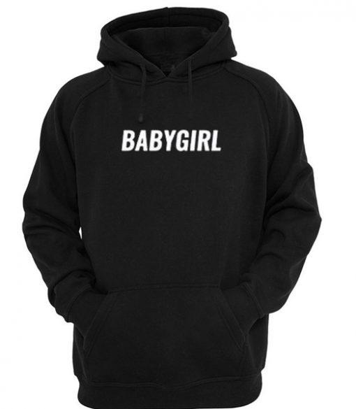 Baby Girl Black Hoodie