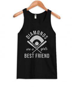 Diamonds Are Girls Best Friend Tank Top