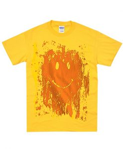 Mud Smiley Face T Shirt