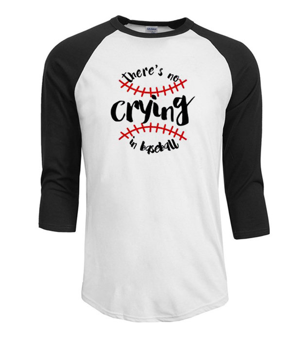 c22bd9c82 No Crying in Baseball Baseball T Shirt