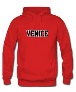 venice red hoodie