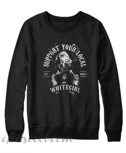 Marilyn Monroe Guns support your local white girl Sweatshirt