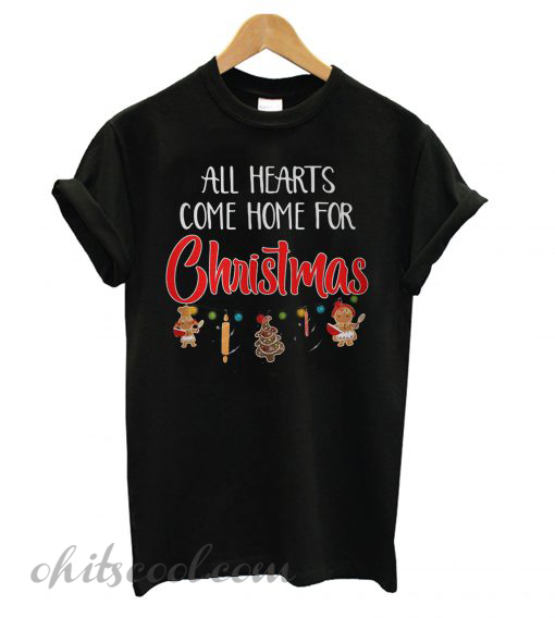 All hearts come home for Christmas ugly T shirt