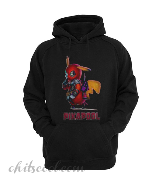 Deadpool Mashup Pikachu into Pikapool Runway Trend Hoodie