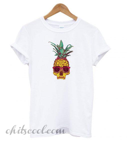 Pineapple Skull T shirt