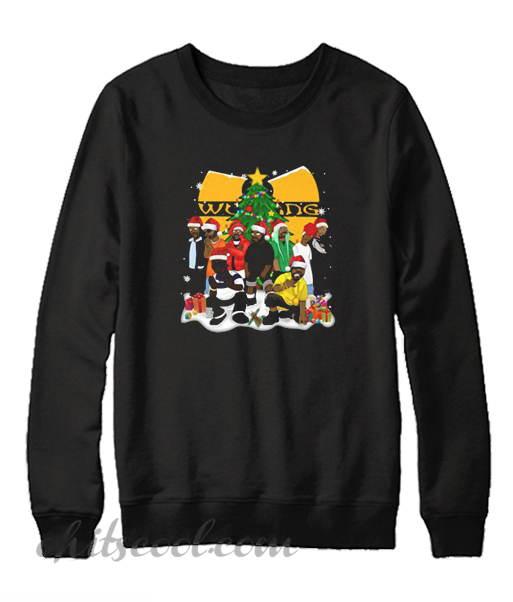Wu Tang clan Christmas Sweatshirt