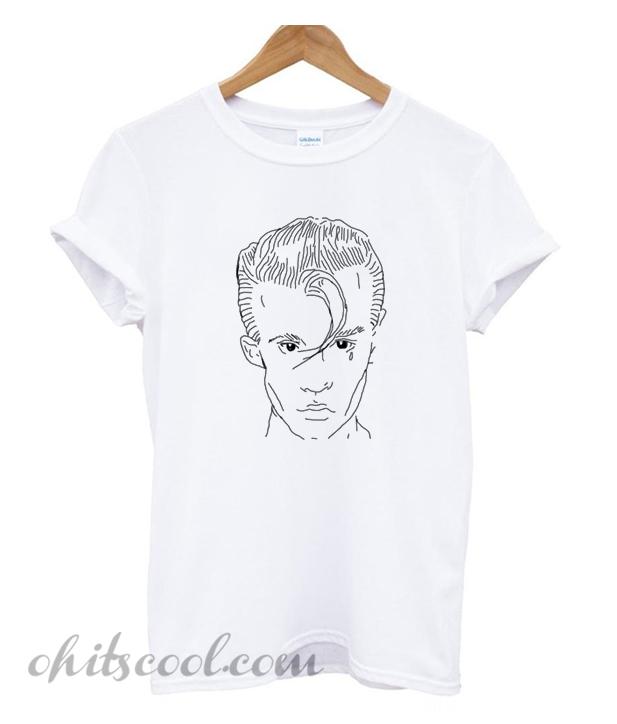 alex turner drawing tshirt