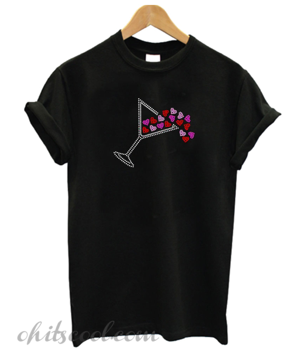 Martini Hearts Runway Trend T-Shirt