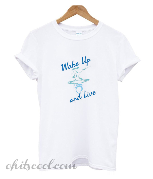 Wake Up And Live Runway Trend T-shirt