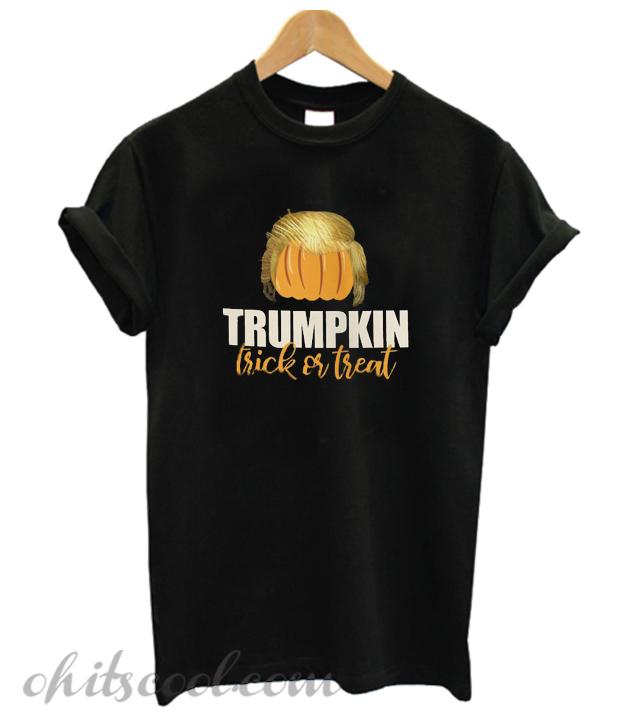trumpkin funny donald trump pumpkin Runway Trend t-shirt