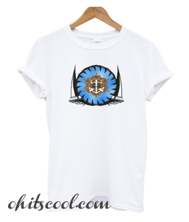 Yacht,anchor and rope T-Shirt
