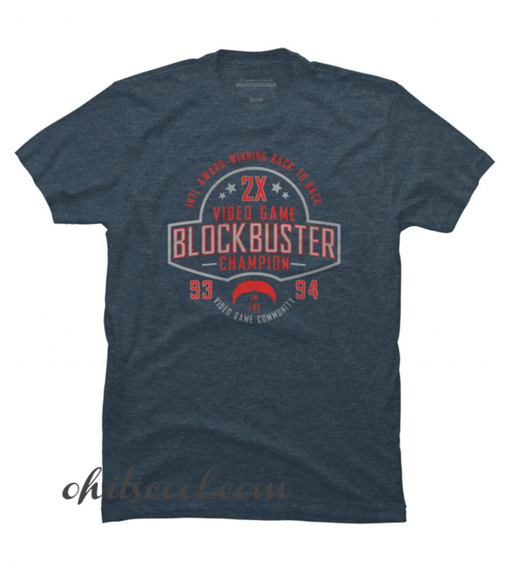 93 94 Blockbuster Champion Runway Trend T shirt