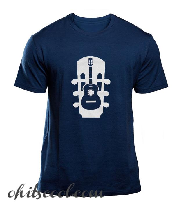 Acoustic Guitar Instrument Musical Runway Trend T Shirt