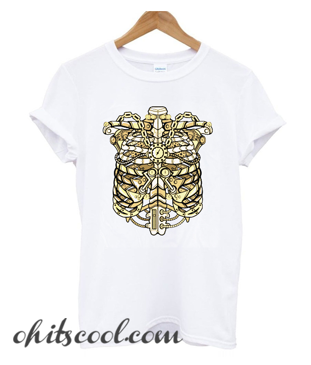 STEAMPUNK RIBCAGE Runway Trend T-SHIRT