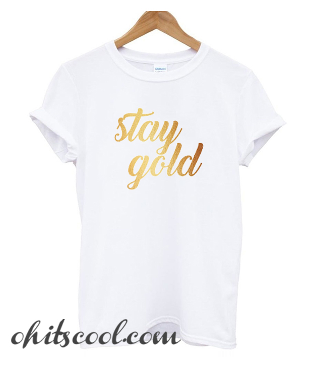 Stay Gold Runway Trend
