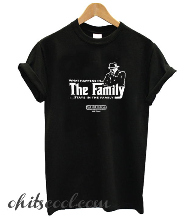 Stays In The Family Runway Trend T Shirt