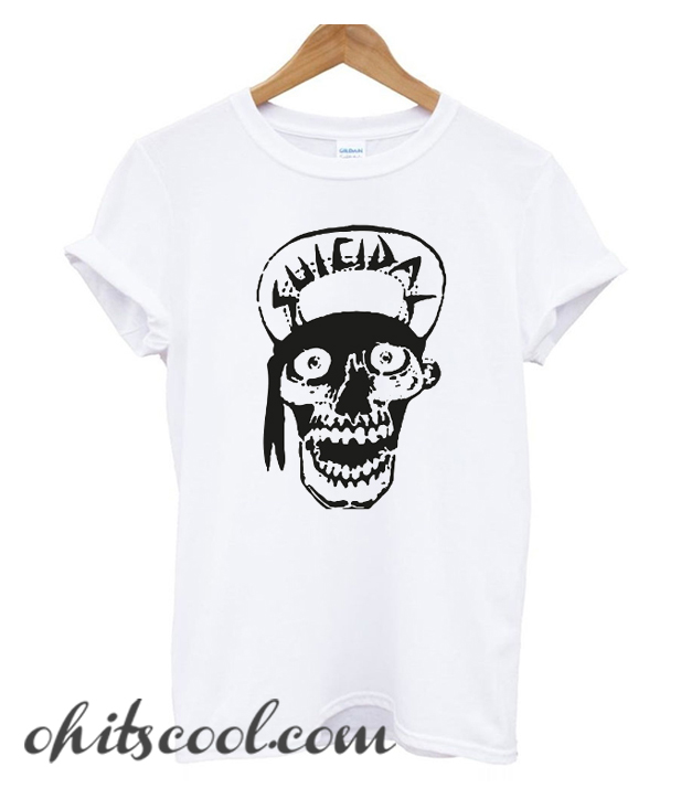 Suicidal Tendencies skull drawing Runway Trend T-Shirt