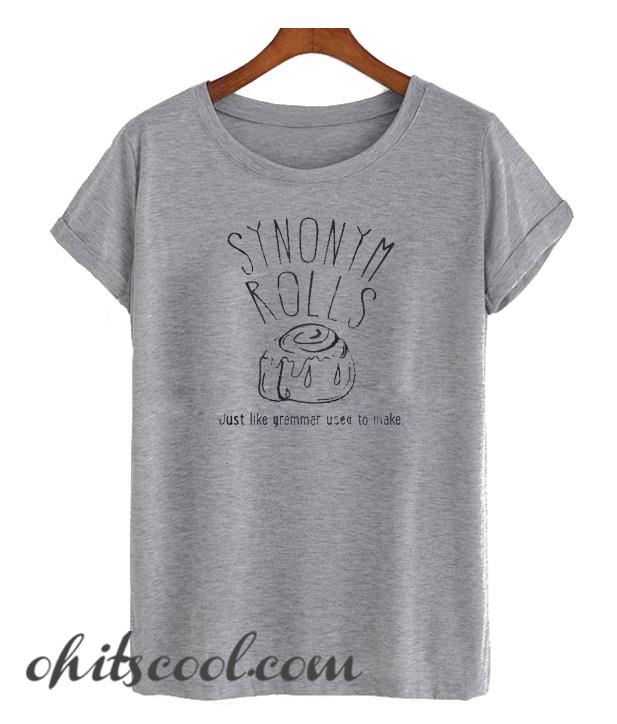 Synonym Rolls Runway Trend T Shirt