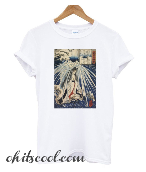 The traditional picture Japanese of Japan T-Shirt