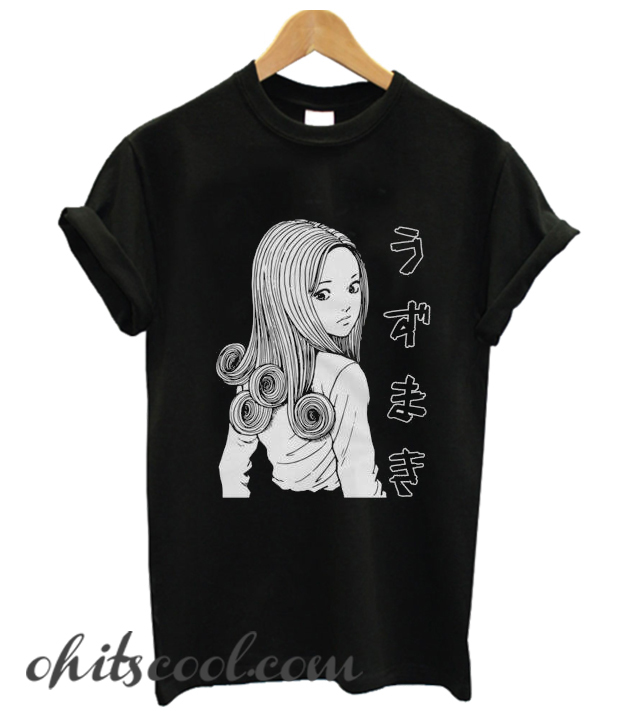 Junji Ito Uzumaki Runway Trend T-shirt