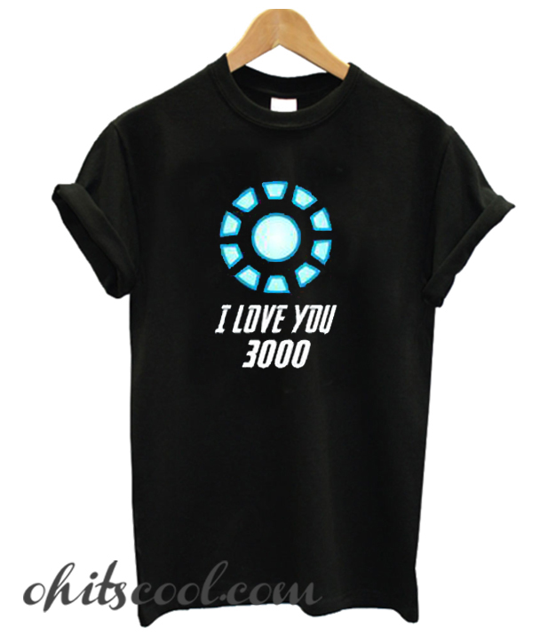 I Love You 3000 Runway Trend T Shirt