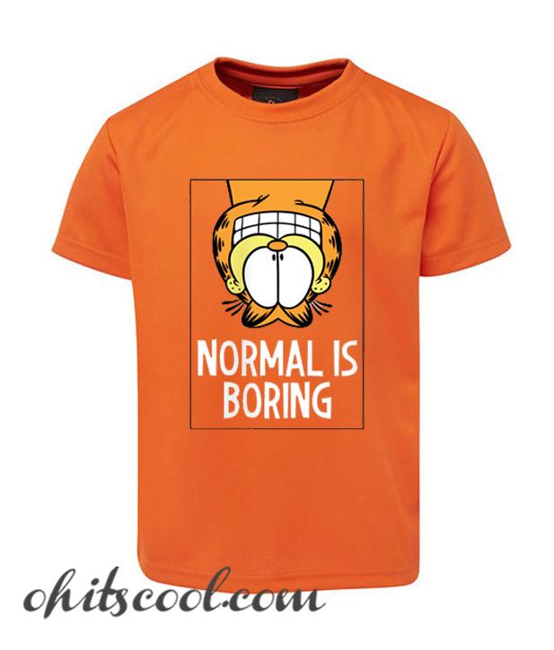 Not A Normal Cat Garfield Runway Trend T Shirt