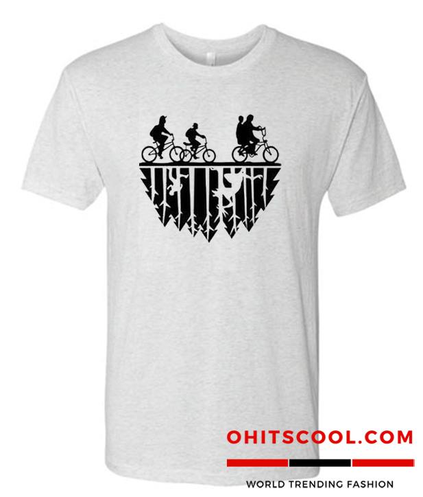 Stranger Things Printed Runway Trend T Shirt