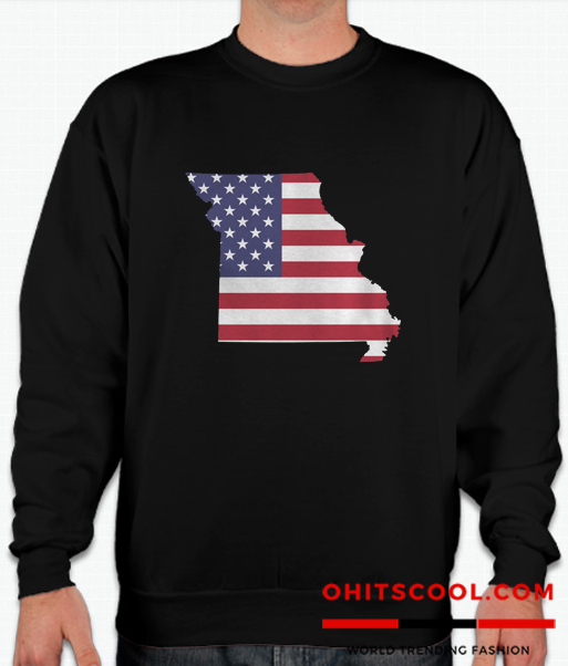 4th Of July Missouri Runway Trend Sweatshirt