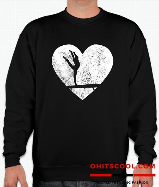Acrobatics Heart Runway Trend Sweatshirt