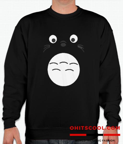 Totoro Cartoon Runway Trend Sweatshirt