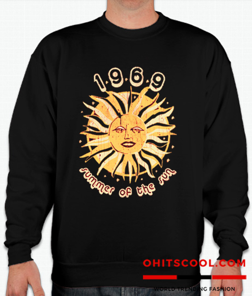 1969 Summer Of The Sun Runway Trend Sweatshirt