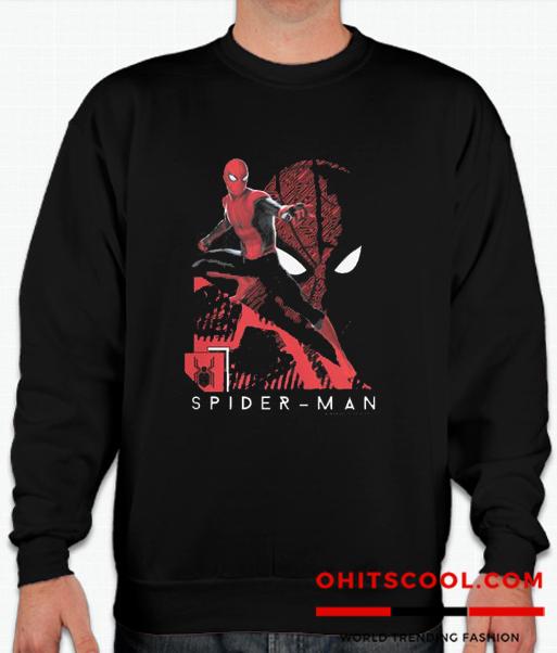 Marvel Spider-Man Far From Home Tech Spidey Runway Trend Sweatshirt