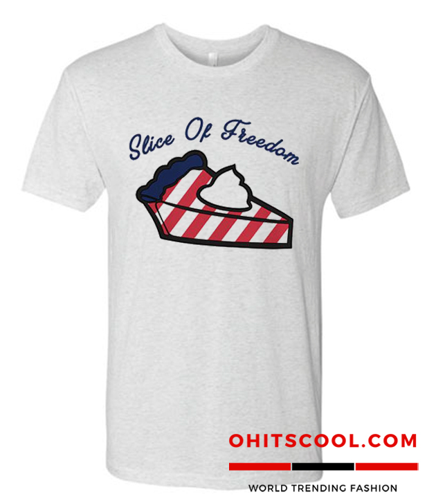 Slice Of Freedom Runway Trend T Shirt