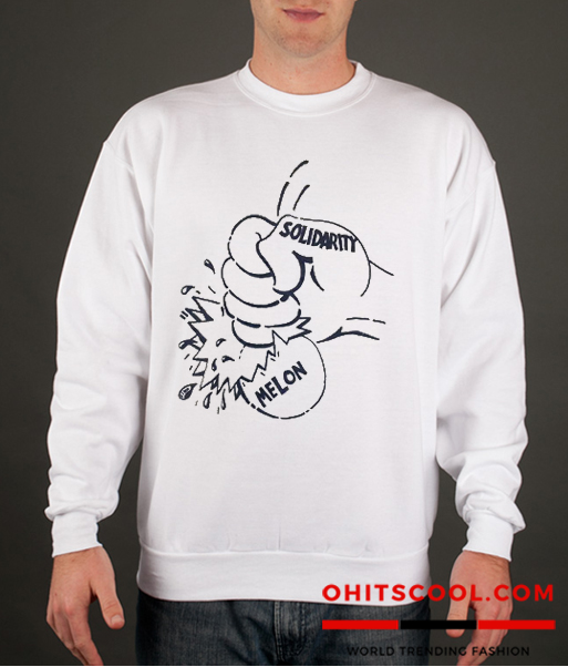 80s Labor Solidarity In 1986 Runway Trend Sweatshirt