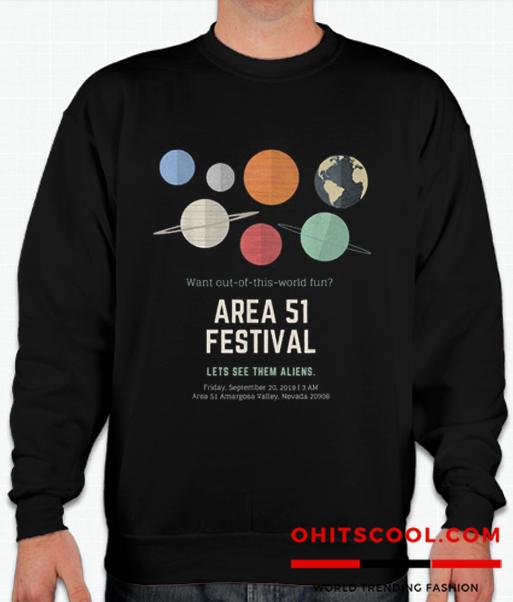 Area 51 Festival Runway Trend Sweatshirt
