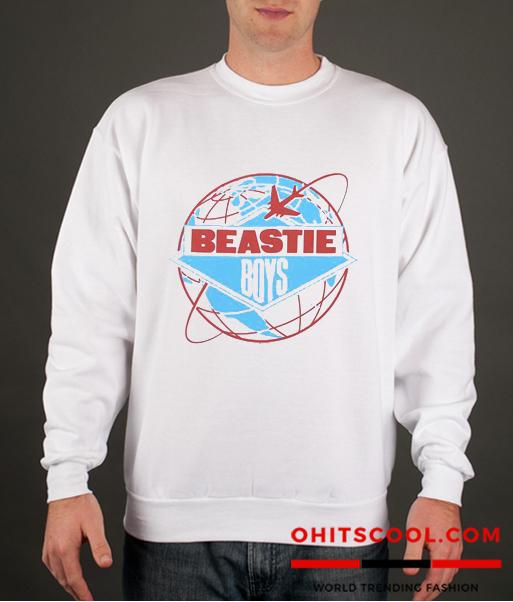 Beastie Boys License To Ill World Tour Runway Trend Sweatshirt
