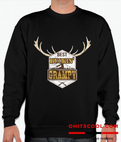 Best Buckin Grampy Runway Trend Sweatshirt