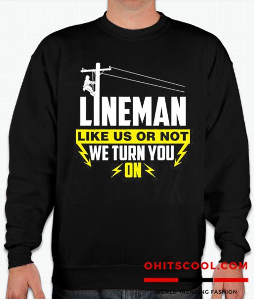 Lineman Runway Trend Sweatshirt
