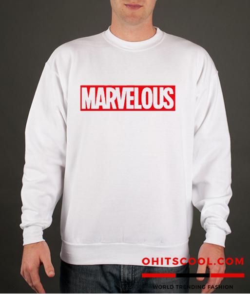 Marvelous Runway Trend Sweatshirt