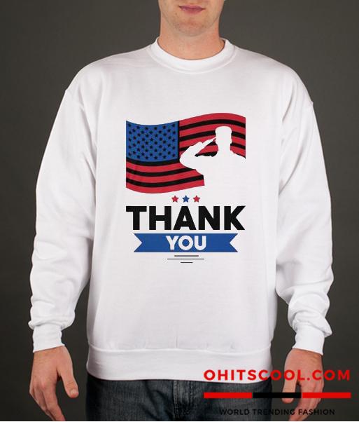 Veterans Day Runway Trend Sweatshirt