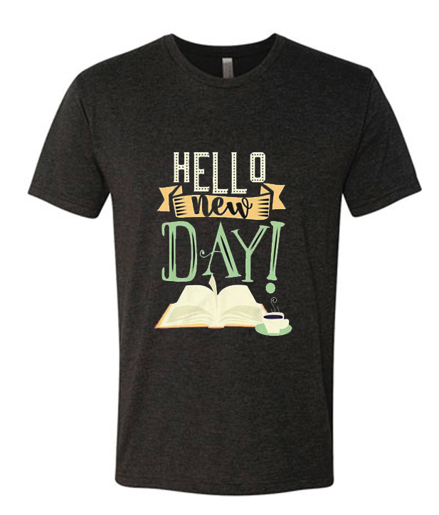 Hello New Day Runway Trend T Shirt