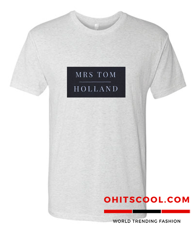 Mrs Tom Holland Runway Trend T Shirt
