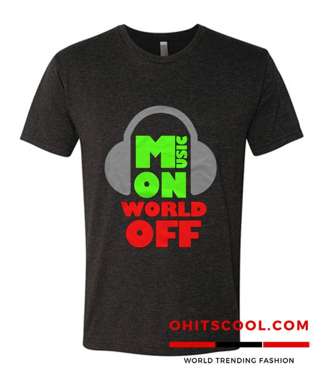 Music On World Off Runway Trend T Shirt