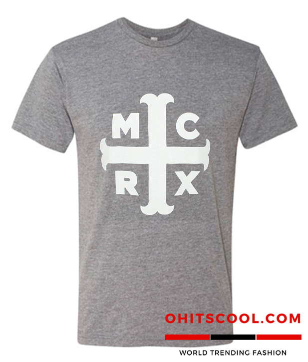 My Chemical Romance Cross Burn Out T-Shirt