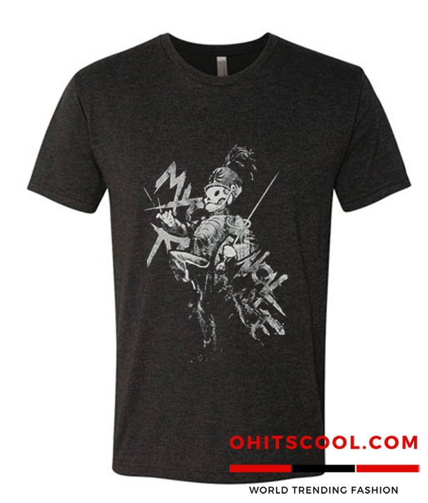 My Chemical Romance Gerard Way Black Parade tshirt